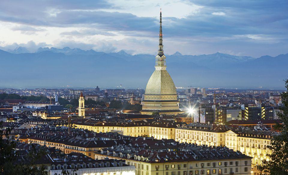 Piemonte Italiya Karta S Gradove I Ptevoditel