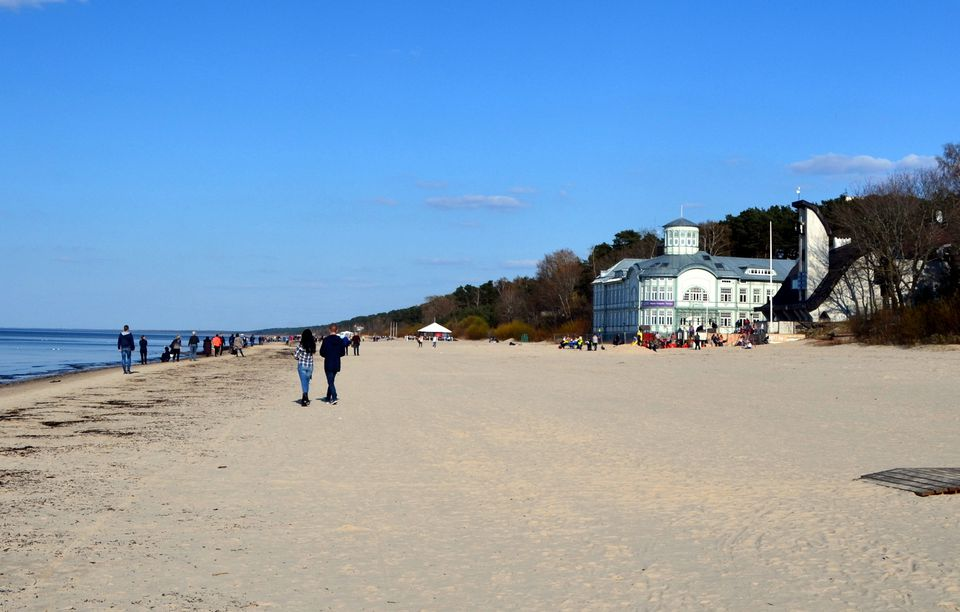 Baltic Coast, Jurmala, Latviya