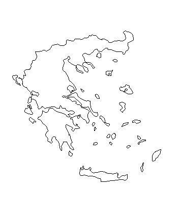 Karta Grcke Osnovna Mapa Grcke I Grckih Ostrva
