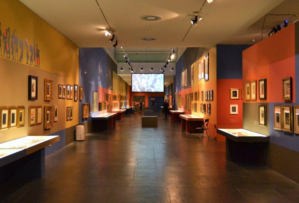 Interior del museu Valencià de la Il·lustració i de la Moderatat